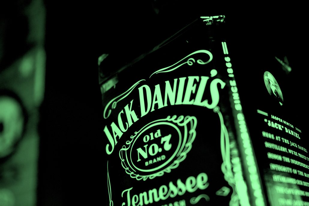 Bleu whisky